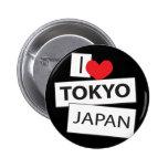 I Love Tokyo Japan Pin