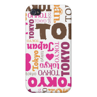i love tokyo japanese typography iphone case iPhone 4/4S cases