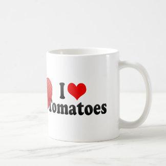 I Love Tomatoes Coffee Mug