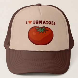I Love Tomatoes Trucker Hat