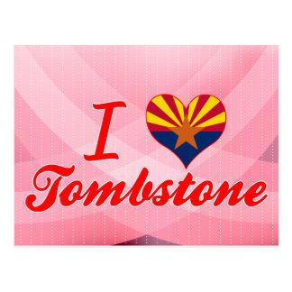 I Love Tombstone, Arizona Postcards