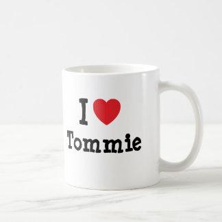 I love Tommie heart custom personalised Mug