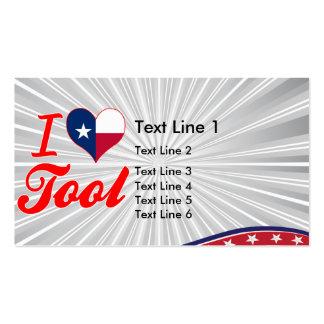 I Love Tool, Texas Business Card