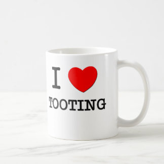 I Love Tooting Coffee Mug