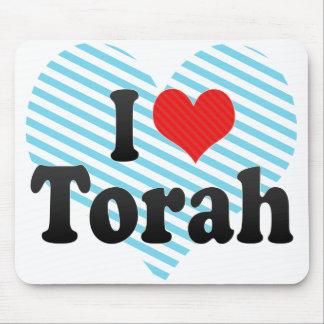 I Love Torah Mouse Pad