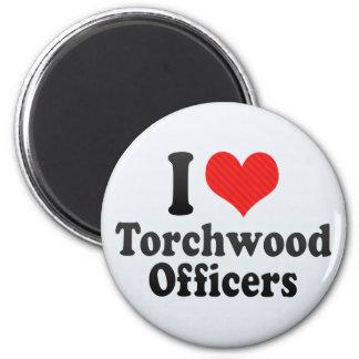 I Love Torchwood Officers Fridge Magnet