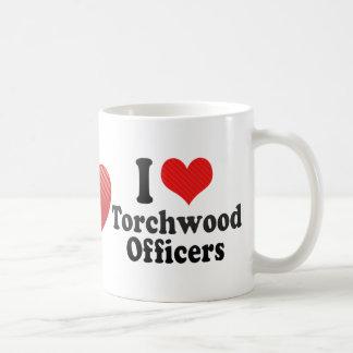 I Love Torchwood Officers Coffee Mugs