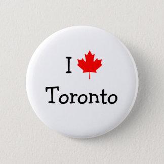 I Love Toronto 6 Cm Round Badge