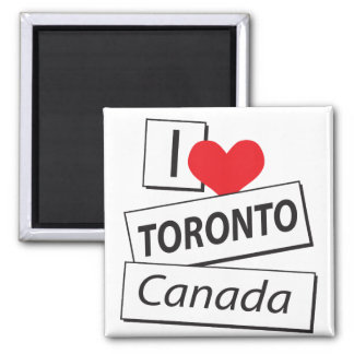 I Love Toronto Canada Fridge Magnets