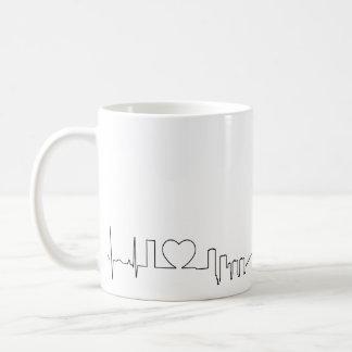 I love Toronto in an extraordinary ecg style Coffee Mug
