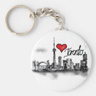 I love Toronto Key Ring