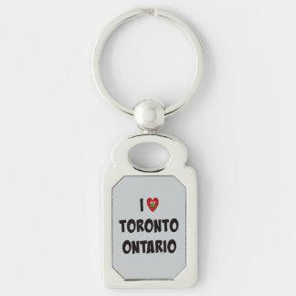 I Love Toronto, Ontario Key Ring