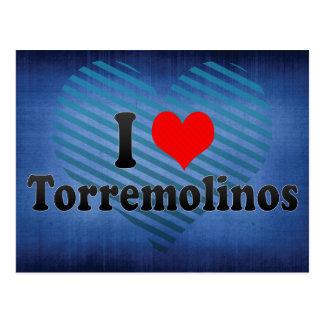 I Love Torremolinos, Spain Postcard