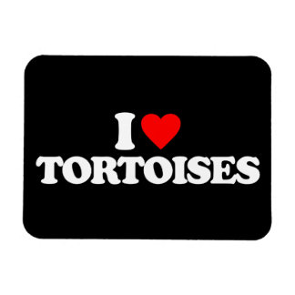 I LOVE TORTOISES FLEXIBLE MAGNETS