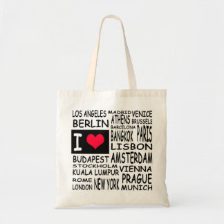 I love... budget tote bag