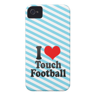 I love Touch Football Blackberry Bold Covers