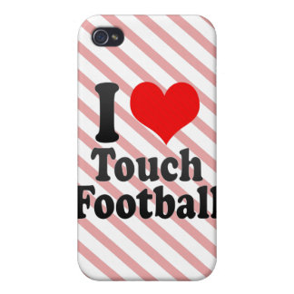 I love Touch Football iPhone 4 Case