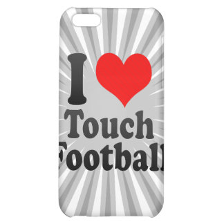 I love Touch Football iPhone 5C Cases