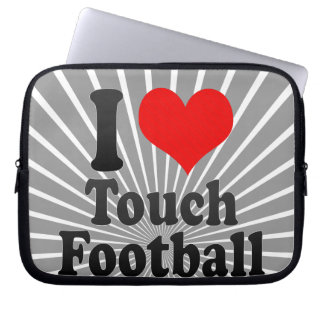 I love Touch Football Computer Sleeve