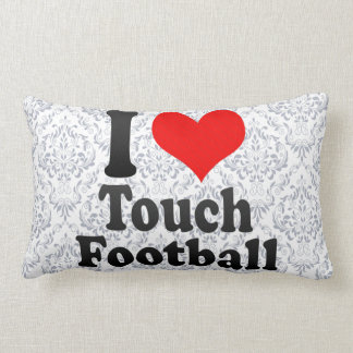 I love Touch Football Pillow