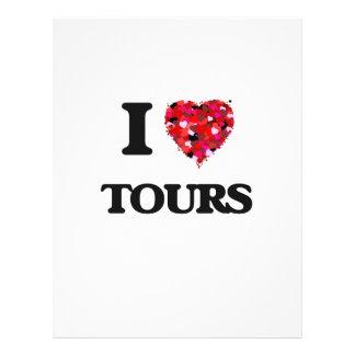 I love Tours 21.5 Cm X 28 Cm Flyer