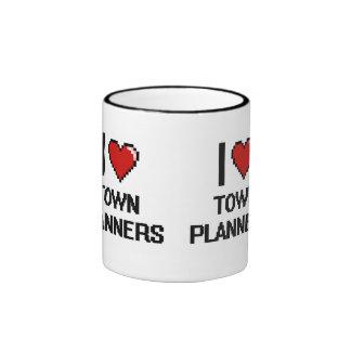 I love Town Planners Ringer Mug