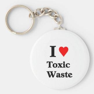 I love toxic waste keychains