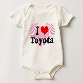 I Love Toyota, Japan. Aisuru Toyota, Japan Baby Bodysuit