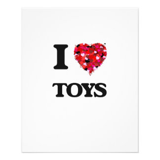 I love Toys 11.5 Cm X 14 Cm Flyer
