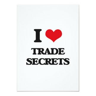 "I love Trade Secrets 5"" X 7"" Invitation Card"