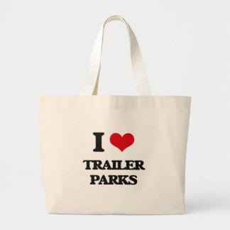 I love Trailer Parks Jumbo Tote Bag