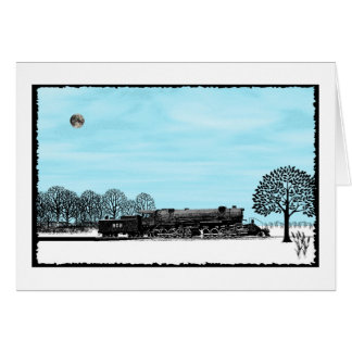 I LOVE TRAINS GREETING CARDS