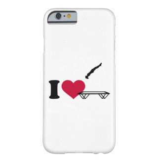 I love trampolining barely there iPhone 6 case