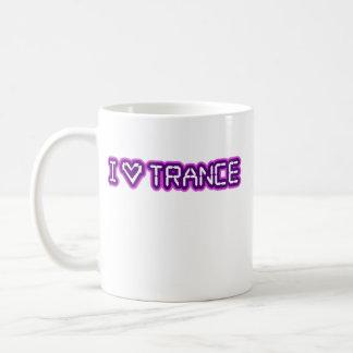 I Love Trance Basic White Mug