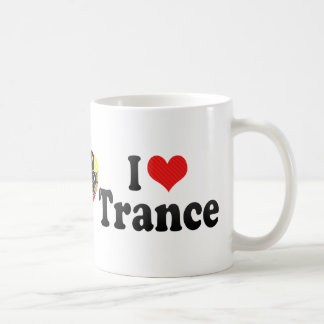 I Love Trance Basic White Mug