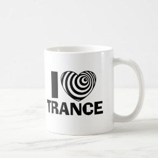 I Love Trance Coffee Mugs