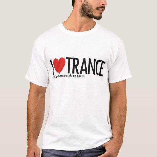 I Love Trance Music Logo T-Shirt