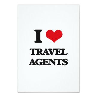 I love Travel Agents Invitation