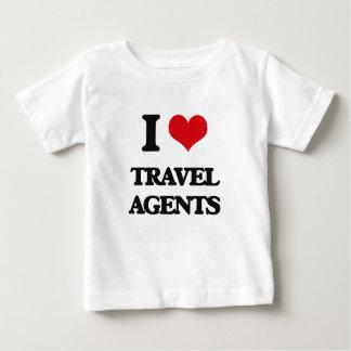 I love Travel Agents Tee Shirts
