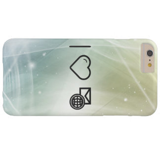 I Love Travelling Abroads Barely There iPhone 6 Plus Case