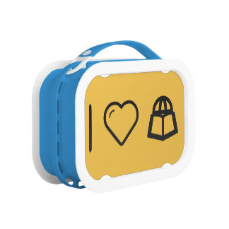 I Love Travelling Abroads Lunch Boxes