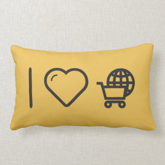 I Love Travelling Abroads Throw Cushions
