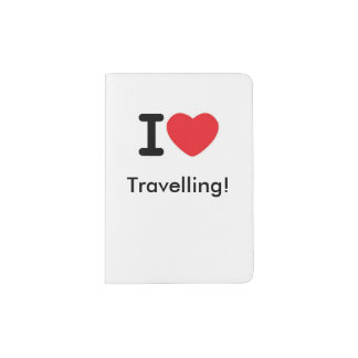 I love travelling! passport holder
