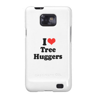 I LOVE TREE HUGGERS.png Samsung Galaxy Case