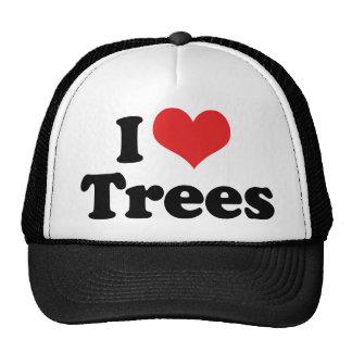 I Love Trees Cap
