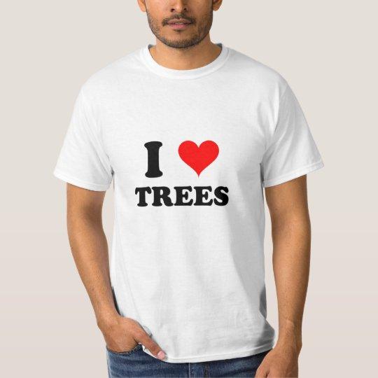 I Love Trees T-Shirt