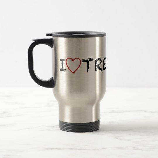 I Love Trekking Travel Mug