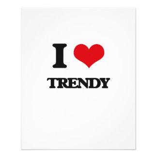 "I love Trendy 4.5"" X 5.6"" Flyer"