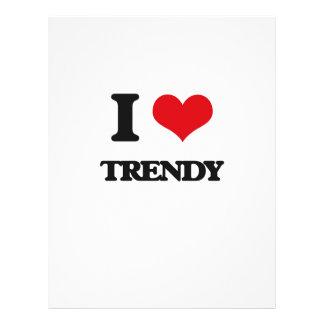 "I love Trendy 8.5"" X 11"" Flyer"