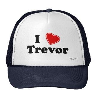 I Love Trevor Mesh Hat